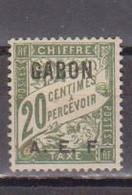 GABON       N°  YVERT  TAXE  3  NEUF AVEC CHARNIERES      (CHAR   01/44 ) - Unused Stamps