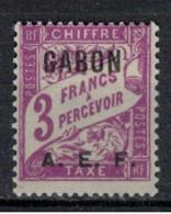 GABON       N°  YVERT  TAXE  11   NEUF AVEC CHARNIERES      (CHAR   01/44 ) - Unused Stamps