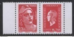 N° 4992 & 4991 Du Carnet N° 1522  Faciale 0,76 € X 2 - Ongebruikt