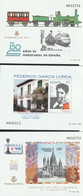 1998. Edifil: 65/67 P. Pruebas De Lujo. Gª LORCA, EXFILNA '98 Y 150º ANIV FERROCARRIL - 1991-00 Ongebruikt