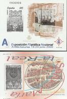 2000. Edifil: 72/73 P. Pruebas De Lujo. EXFILNA 2000 Y STA MARIA LA REAL - 1991-00 Ongebruikt
