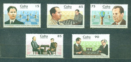 🚩 Sale - Cuba 1996 The 75th Anniversary Of Jose Raul Capablanca's First World Championship Victory  (MNH)  - Spo - Unclassified