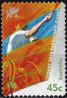 Australia 2000 - Mi 1942 - YT 1897 ( Paralympic Games : Tennis ) - Used Stamps