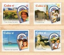 🚩 Sale - Cuba 2001 Tourism  (MNH)  - Architecture, Nature, Tourism, Fortresses - Nature