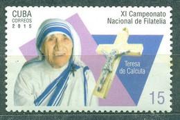 Sale - Cuba 2015 Mother Teresa  (MNH)  - Religion - Ohne Zuordnung