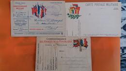 Carte Postale Militaire - Lot De 3 - Other