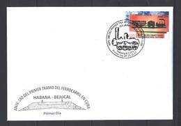 Sale - FDC 2017 The 180th Anniversary Of The Habana-Bejucal Railway  (U)  - FDC Cuba - FDC