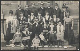 France: Roanne, Grupeto De Gelernantoj  1908 (Étudiants D'espéranto / Esperanto Students) - Roanne