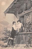 Couple Paysans De Montagne Bavière Tyrol - Koppels