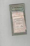 Echantillon Tissu Au Bon Marché Paris Boucicaut Madapolam Shirting Triple Shirting Cretonne - Non Classificati