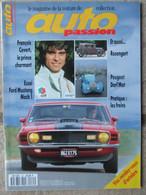 Revue Auto Passion N°85 (octobre 1993) Ford Mustang Mach 1 - F Cevert - Peugeot Darl'Mat - Auto/Motor