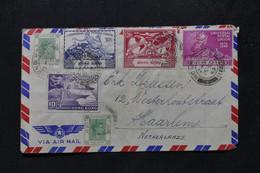 HONG KONG - Enveloppe Pour Les Pays Bas En 1949, Affranchissement UPU - L 80561 - Covers & Documents