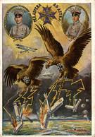 VERY RARE PERASPERA ADASTRE IMMELMANN BOLCKE  GERMANY DEUTSCHLAND  WWI WWICOLLECTION - Guerra 1914-18