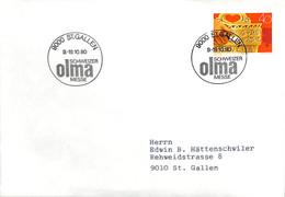 NB - [904269]B/TB//-Suisse 1980 - ST.GALLEN - FDC