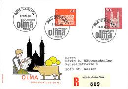 NB - [904271]B/TB//-Suisse 1980 - ST.GALLEN, Eglises Et Cathédrale - FDC