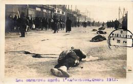 Chine - Tientsin - Les Cadavres Après Les 17 Exécutions De Soldats Chinois Les 2 Et 3 Mars 1912 - China