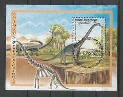 Cambodja 2000 Prehistoric Fauna S/S  Y.T. BF 163 (0) - Vor- U. Frühgeschichte