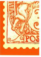 """BLOC CADEAU DU TIMBRE Type BLANC De 1900  // """" 3c---CECI N'EST PAS UN TIMBRE """"    """" N° 1 Sur 4 ( 1° Trimestre ) """" - 1900-29 Blanc"""