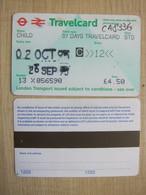 London Transport 7 Days Travel Card,child Card - Europa