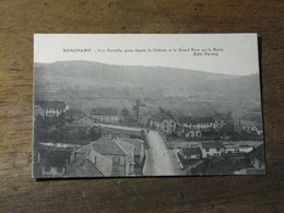 RONCHAMP /Vue Partielle ,prise Depuis Le Chateau Et Le Grand Pont Sur Le Rhin - Otros Municipios