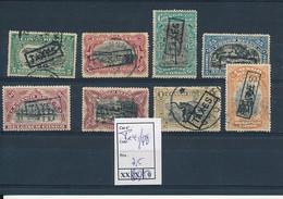 BELGIAN CONGO  1915 ISSUE COB TX41/48 USED OR MINT NO GUM - Taxe: Oblitérés