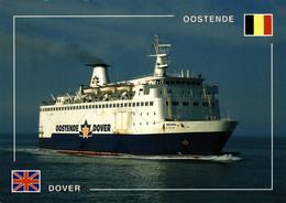 """N°2329 Z -cpsm Ferry """"Reine Astrid"""" -Oostende Dover- - Ferries"""