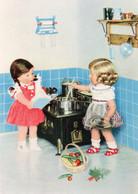 DC194 - Ak Planet Verlag Berlin Puppenstube Kinder Beim Kochen Puppen Spielzeug - Otros