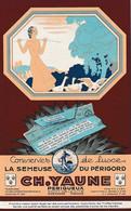 """1932 PERIGUEUX - Conserves De Luxe """"LA SEMEUSE DU PERIGORD"""" - Charles YAUNE - TRUFFES FRAICHES - Historische Documenten"""