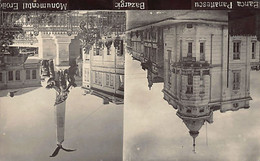 Bulgaria - DOBRICH Bazargic - Banca Panaitescu - Monumentul Eroilor - REAL PHOTO - Ed. Rifat Isleam - Bulgaria