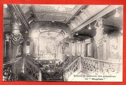 """Balcon Et Descente Des Premières Du """" Magellan """" - Steamers"""