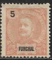 Funchal – 1897 D. Carlos 5 Réis Mint Stamp - Funchal