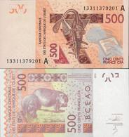 Ivory Coast - West African States 2012 - 500 Francs - Pick NEW UNC Letter A - Côte D'Ivoire