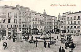 Malaga - Piazza De La Constitucion (animation, Fototipia Thomas) - Málaga