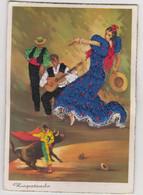 "Carte Brodée "" Zapateado"" - Ricamate"