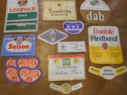 Etiquettes Bière Année 60/70 - Bier