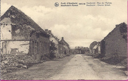 --  FORET D'HOUTHULST 1914 -- 1918 -- RUE DE L'EGLISE - Houthulst