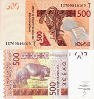 Togo - West African States 2012 - 500 Francs - Pick 819T UNC Letter T - Togo