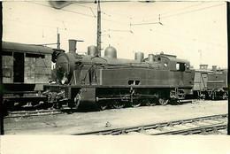 051220B - PHOTO TRAIN Locomotive Gare Chemin De Fer - PO 5019 - Estaciones Con Trenes
