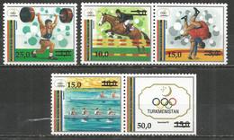 Turkmenistan 1992 Year, Mint Stamps MNH (**) Mi. # 25-29 - Turkmenistan