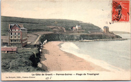 22 PERROS GUIREC - Plage De Trestignel. - Other Municipalities