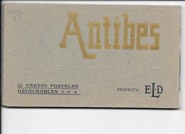 ANTIBES - Carnet Complet De 12 Cartes De Chez E.L.D. - Altri