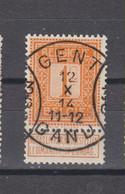 COB 108 Centraal Gestempeld Oblitération Centrale GENT - GAND 3 - 1912 Pellens