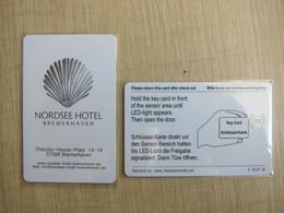 Nordsee Hotel Bremerhaven,Germany,shell - Cartes D'hotel