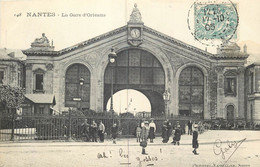 44 - NANTES - La Gare D'Orleans En 1905 - Nantes
