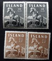 Iceland 1958     Minr.325 -26 MNH (**) ( Lot Ks 963) - Neufs