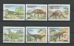 Cambodja 1999 Prehistoric Fauna Y.T. 1641/1646 (0) - Vor- U. Frühgeschichte