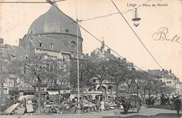 Liege - Place Du Marché - Superbe Animation - Liege