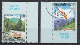 Servische Republiek  Europa Cept 2004  Type Do,Du Gestempeld Fine Used - 2004