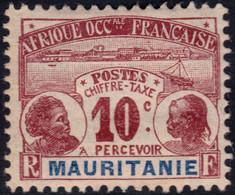 ✔️ Mauritanie 1906 - Taxe - Yv. 10 * MH - €5.50 - Nuevos