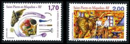 ST-PIERRE ET MIQUELON 1999 - Yv. 689 Et 690 **   Faciale= 0,56 EUR - Le Maréchal-ferrant (2 Val.)  ..Réf.SPM12209 - Unused Stamps